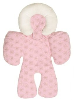 Harga JJ Cole Baby Head & Body Support Pillow for Car Seat & Stroller - Pink