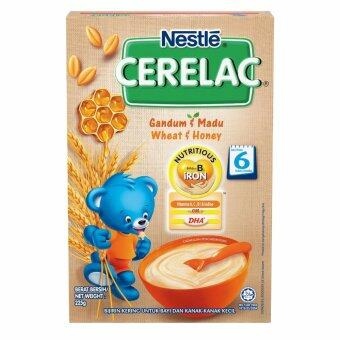 Harga NESTLE CERELAC Wheat and Honey Infant Cereal 225g