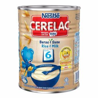 Harga NESTLE CERELAC Rice Infant Cereal With Milk 350g