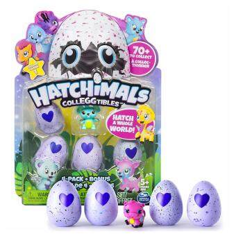Harga Hatchimals - CollEGGtibles - 4-Pack + Bonus (Styles & Colors May Vary) by Spin Master