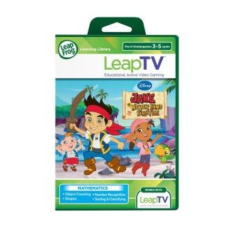 Harga LeapFrog LeapTV Disney Jake and The Never Land Pirates Educational, Active Video Game