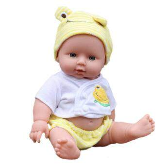 Harga Reborn Baby Doll Soft Vinyl Silicone Lifelike Newborn Baby for Girl Gift