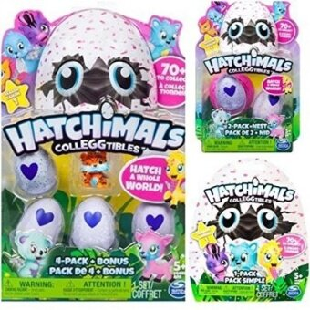 Harga Hatchimals Colleggtibles Season 1 4-pack + bonus, 2-pack + nest, 1 blind SET (random assortment) Collectibles