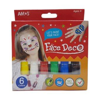Harga Amos Face Deco (Box of 6 Colours)