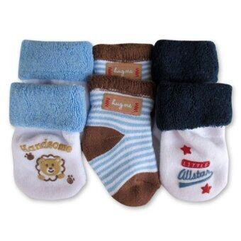 Harga Bumble Bee 3 Pairs Pack Lion Hug Me Socks