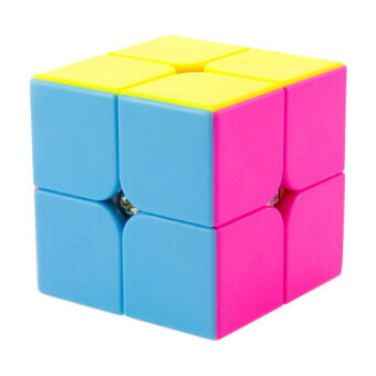 Harga 360WISH 2015 Newest Yongjun YJ Yupo 2x2x2 Stickerless Magic Cube Competition Speed Cube - 6-Color