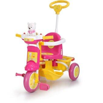 Harga My Dear Bebe Bear Tricycle 21079 - Pink