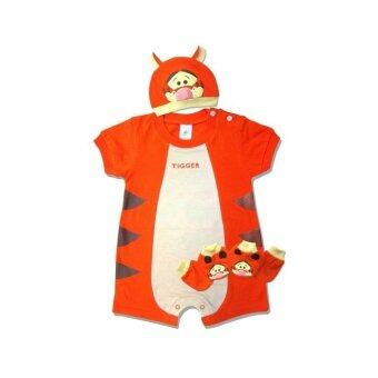 Harga Winnie The Pooh Baby Costume Gift Set (Tigger)