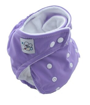 Harga YBC Baby Nappy Cloth Adjustable Diapers Soft Covers Diaper Purple