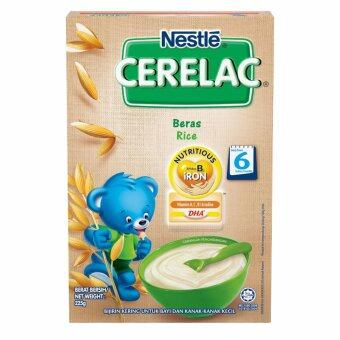 Harga NESTLE CERELAC Rice Infant Cereal 225g