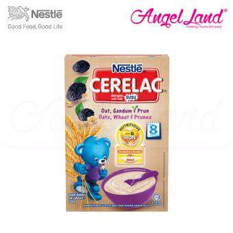 Harga Nestle Cerelac Oats, Wheat & Prunes 8M+ (250G)