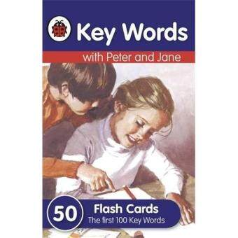 Harga Ladybird Key Words Flash Cards with Peter and Jane (100 Key Words)