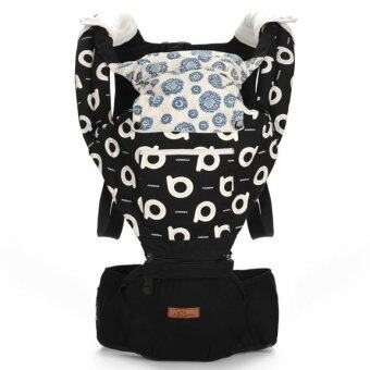 Harga Aiebao Quality Baby Hipseat Baby Carrier baby carrier - Black