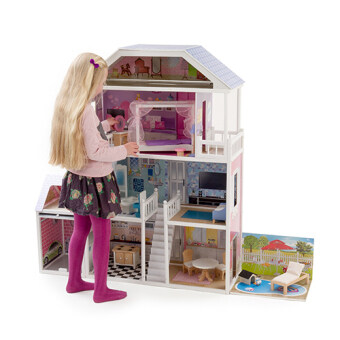 Harga Mamakiddies 1.3metre Tall Barbie Wooden Brighton Dolls House