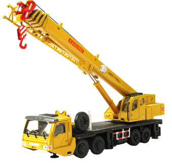 Harga Scale 1:55 Remote Control RC Crane Heavy Construction Lifting Truck Toy