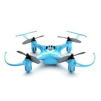 Harga Eachine H8S Mini 3D Inverted Flight 2.4G 4CH 6Axis RC Drone Quadcopter Blue Mode 2