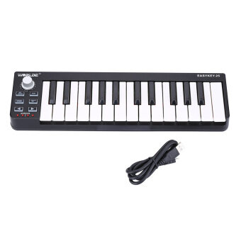 Harga Worlde Easykey.25 Portable Keyboard Mini 25-Key USB MIDI