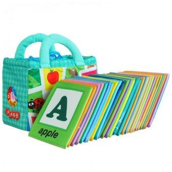 Harga Cloth Alphabet Learning Card 0-3 years old (Lala Cloth Book)