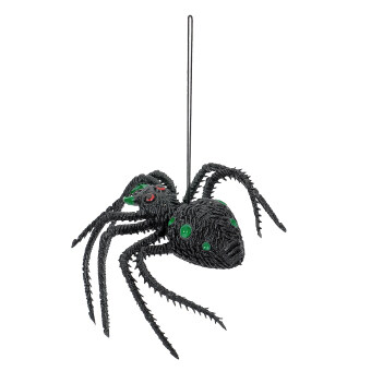 Harga ZUNCLE Scary Halloween Lifelike Silicone Spider Toy Green and Black