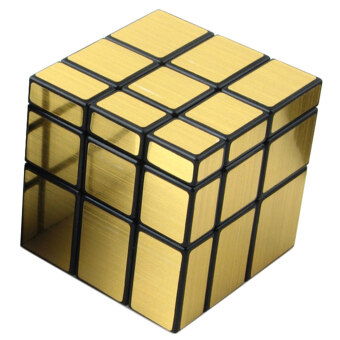 Harga Moonar Professional Mirror Magic Cube Puzzle (Gold)
