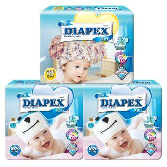 Harga ( 1pkts x Diapex Easy Wonder Tape Mega S80) +( 2pkts x Diapex Easy Wonder Tape Mega M70)