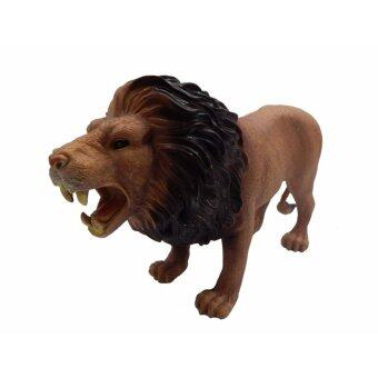 Harga Animal World - Lion Toy (For Age 3 Years +)