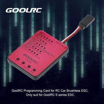 Harga GoolRC S series S-45A/S-120A RC Car ESC Programming Card
