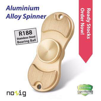 Harga NoZig Aluminium Alloy Fidget Hand Spinner, Ultra Fast Spinner, Great Gift for ADD, ADHD and Autism Adult Children GD