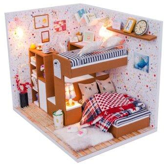 Harga A Small Partner with Light/Anti-dust cover DIY Miniature Doll House