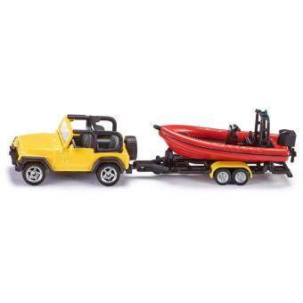 Harga Siku, Jeep with Boat