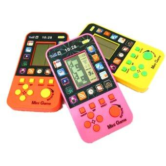 Harga Handheld Built-in 23 Games Classic Intellectual Console Toy Brick Games Retro Tetris Game Console for Kids
