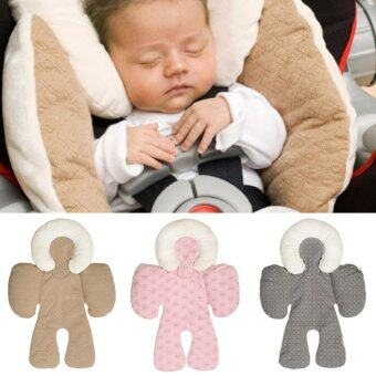 Harga JJ Cole Reversible Head and Body Support Pillow For Stroller & Car Seats Protector Stroller Cushion-Pink, Grey, Khaki