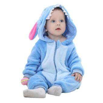 Harga Baby Clothes Flannel Baby Boy Clothes Cartoon Animal Jumpsuit Baby Girl Rompers Baby Clothing