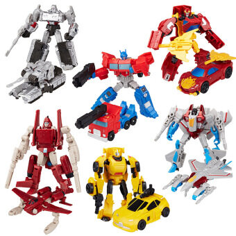 Harga Transformers Autobot Decepticon Commander Six Pocket Robots Series Sets (Multi-color) legend Lever Action Figure Toys