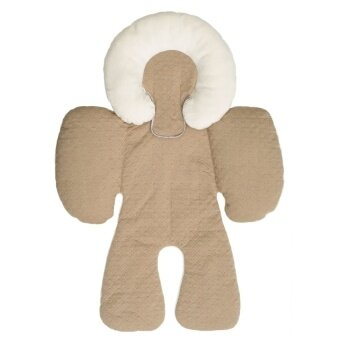 Harga JJ Cole Baby Head & Body Support Pillow for Car Seat & Stroller - Khaki