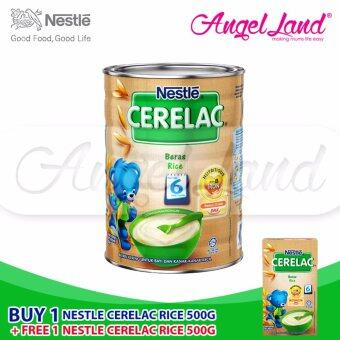 Harga Buy 1x Nestle Cerelac Rice (500G) + Free 1x Nestle Cerelac Rice (100G)