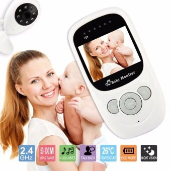 Harga 2.4 Inch 2.4Ghz Wireless Digital Video Baby Monitor Night Vision IR LED Baba Baby Camera 2Way Talk Electronic Babysitter