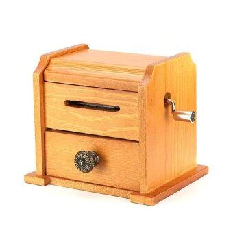 Harga Philco Vintage Hand-cranked Music Box Comps Tape Diy Wooden Music Box