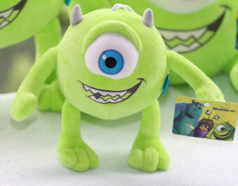 Harga New Arrival 18cm Monsters Inc Mike Wazowski Toy Monsters University Mike Wazowski Plush Soft Dolls