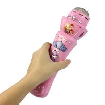 Harga Wireless Girls boys LED Microphone Mic Karaoke Singing Kids Funny Gift Music Toy Pink Vee Customized