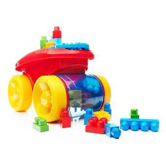 Harga Mega Bloks® Block Scooping Wagon Building Set Red