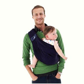 Harga Baby Carrier/Baby Sling/Baby Backpack Carrier/High Quality Organic Cotton + Sponge Baby Suspenders (Navy)
