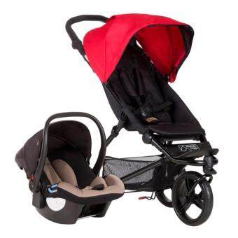 Harga MOUNTAIN BUGGY MINI TRAVEL SYSTEM (RED)
