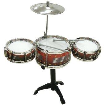 Harga Jazz Drum for Kids - Brown Colour