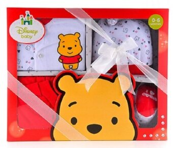 Harga Disney Cuties Baby – Winnie The Pooh Red 5 Pcs Gift Set