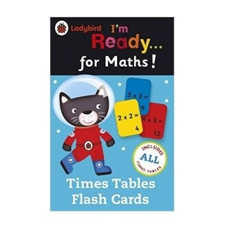 Harga LadybirdI'm Ready for Maths Time Tables Flash Cards