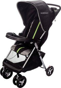 Harga Sweet Heart Paris ST PALMA(NERO) One Second Folding Stroller