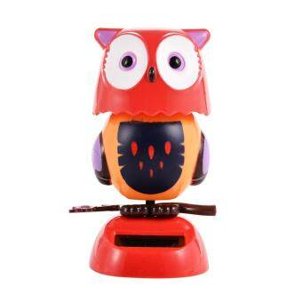 Harga Solar Powered Dancing Animal Decoration - Red Ow