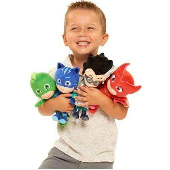 Harga 4Pcs/Set 20Cm Plush Pj Cartoon Mask Hero Cat Boy &Amp; Gekko &Amp;Owlette Movie Figure Toys