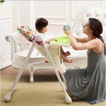 Harga 4 in 1 Baby High Chair Multiple Height Adjustment & Comfortable